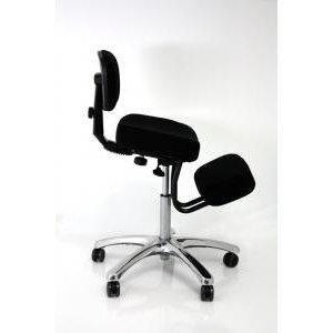 Free sgabello posturale nero grigio blu bacino sedia ergonomica poltrona schienale poggia - Sgabelli ergonomici ikea ...