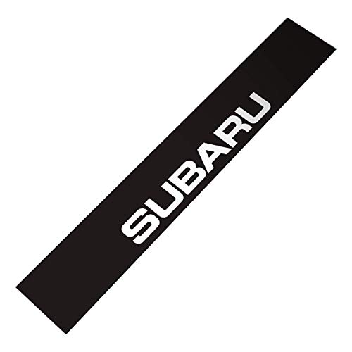 Demupai Front Windshield Banner Decal Vinyl Car Stickers for Subaru (Black Background)