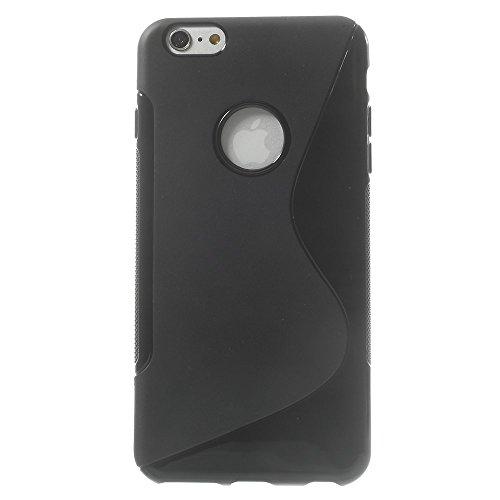 Katinkas weiche Wave Hülle für Apple iPhone 6 Plus schwarz