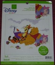Story Time Counted Cross Stitch Kit (Disney Home Pooh Col...