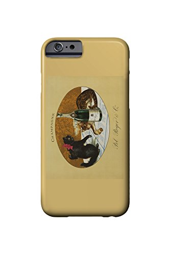 champagne-pol-roger-c-1921-vintage-poster-iphone-6-cell-phone-case-slim-barely-there
