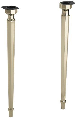 Kohler K-6839-AF Kathryn Octagonal Metal Legs, Vibrant French Gold by Kohler