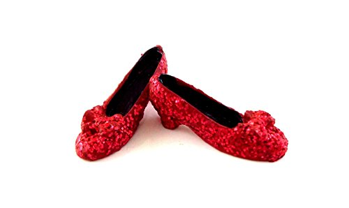 Dollhouse Miniature 1:12 Scale Mini Ruby Slippers #Gs4006