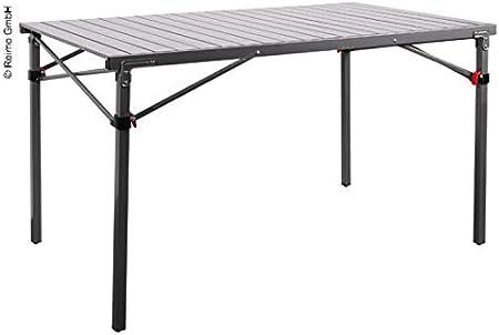 Mesa de camping Rauma, de aluminio, 120 x 70 cm ...