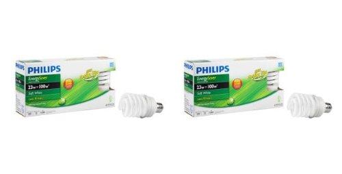 Philips 23-Watt (100W) CFL Energy Saver Light Bulb (8-Pack) (E)*