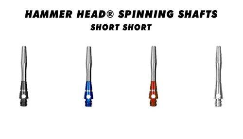 ハンマーヘッドスピニングシャフト 超高速最高級品スピニングダーツシャフト (ShortShort(21mm)フライト差込までの距離)【BOTTELSEN】【SHAFT】【ダーツ】【DARTS】 (SILVER)の商品画像