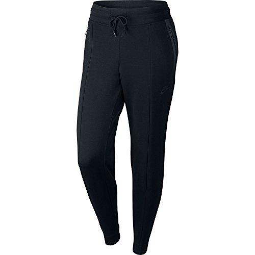 Black Pant Nike W NSW Tech Fleece Pant (803575-010) M