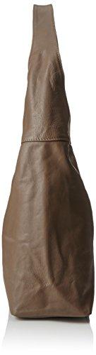 Shopper A Tracolla Borse E Bags4less taupe Marrone Donna Rubin RUnq5Pw6