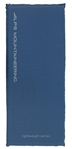 ALPS Mountaineering Lightweight Series Self-Inflating Air Pad (Steel Blue, Regular)