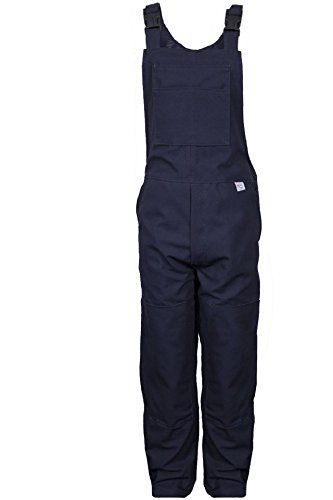 National Safety Apparel BIB6DNV38X34 Deluxe Unlined Bib Overall, 38