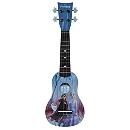 First Act Discovery Frozen 2 Ukulele (Small Kids Guitar with Four Strings)