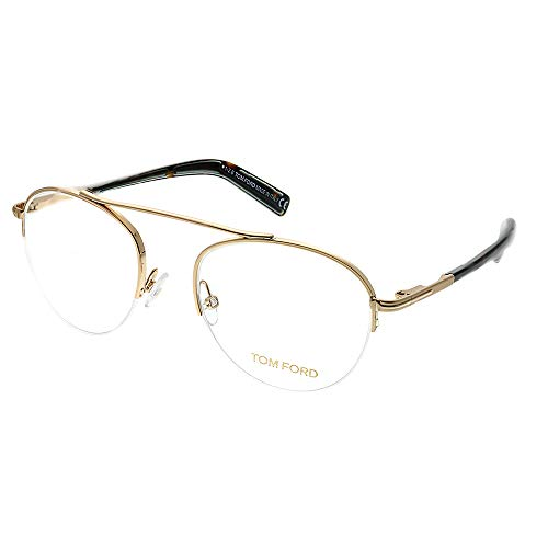Tom Ford Rx Eyeglasses with Case - FT5451 28B - Gold ()