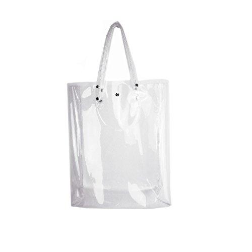 Clear Pvc Shopper Bag - 7