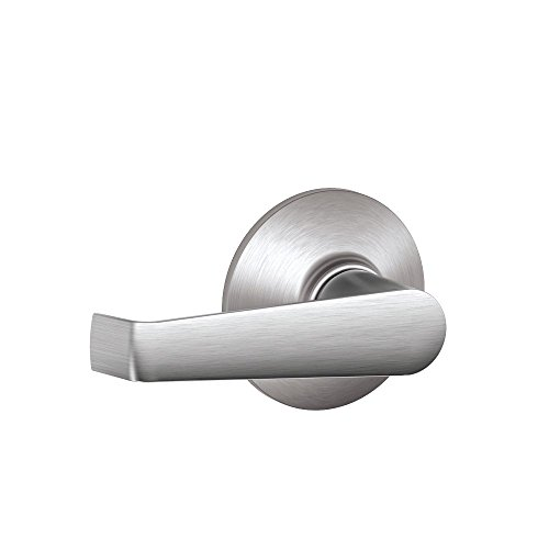 Schlage F10CS V ELA 626 Elan Light Commercial Passage Lever, Satin Chrome