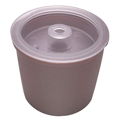 GmgodgomaiZILIAO Filter Cup,Coffee Filter Reusable Capsule Fit for Illy Coffee Capsule Dripper