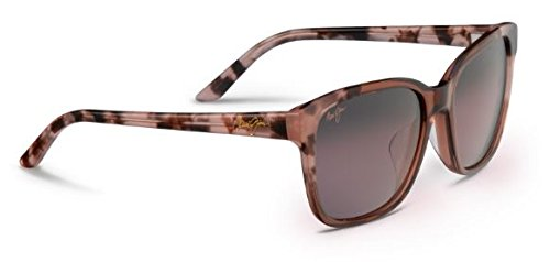 Maui Jim Moonbow Polarized Sunglasses Pink with Pink Tokyo / Maui Rose One - Jim Maui Wayfarer