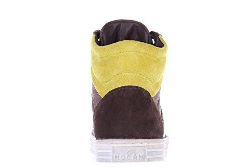 Sapatos Sneakers Sapatos Hogan Crianças De Camo Rebeldes Crianças Meninos Camurça 7daxxwtqY