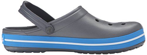 carbone di Mules Adult Crocs Mixed Crocband oceano legna Grey wXFZYq5