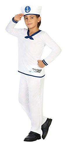 Atosa 20407–marinero, niño Disfraz, tamaño 116