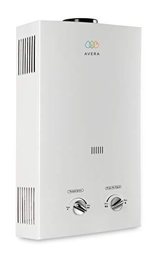 Calentador de agua instantáneo para 1 servicio. Gas LP. AVERA C6L