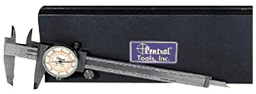 Central Tools 6628 Dual Scale Dial Caliper 0-6in 0-150mm