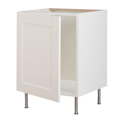 IKEA FAKTUM -Unterschrank für Spüle Adel off-white - 50 cm: Amazon ...