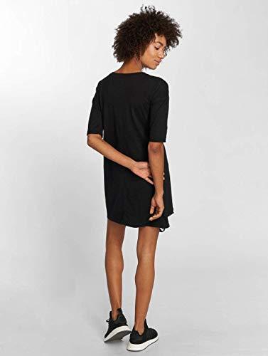 Robe June Fleurs Sixth Broderies shirt Noir T Imprimé aqxvn5Cv