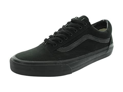 Vans Old Skool Skate Shoes Black/Black, Men's 9.5 Women's
