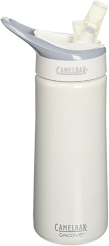 Camelbak Groove Insulated Bottle (Camelbak Groove Stainless Steel (0.6 Liter/20 Ounce,White))