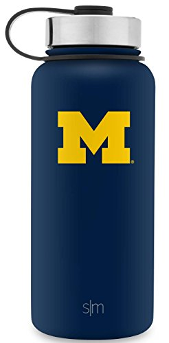 Simple Modern University Collegiate 32oz Summit Water Bottle Michigan