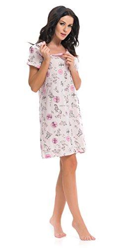dn-nightwear - Camisón - para mujer Rosa