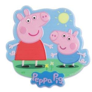 UPC 021466037799, Peppa Pig Cake Topper Plaque