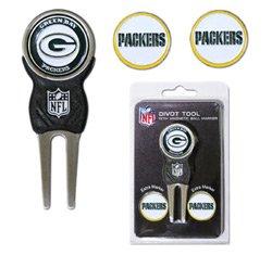 Team Golf NFL Green Bay Packers - Divot Tool Pack