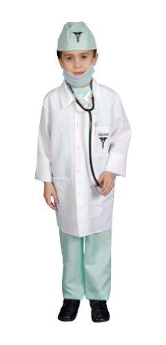 [Doctor Child Costume deluxe - Medium (8-10)] (9 Doctor Costume)