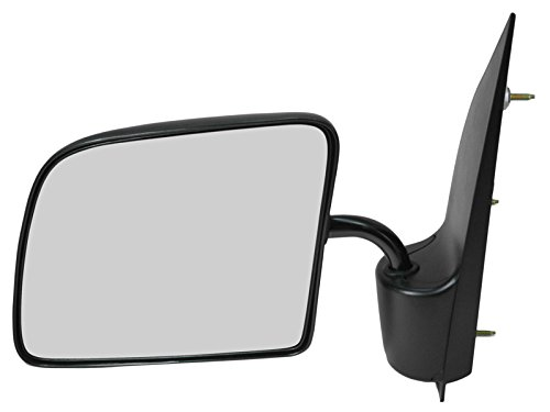 (Manual Side View Mirror Driver Left LH for 94-06 Ford Econoline Van)
