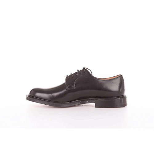 CHURCH'S Stringata Shannon in Pelle Nera Nero