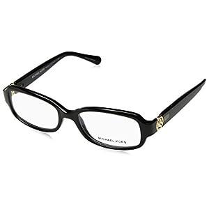 Michael Kors TABITHA V MK8016 Eyeglass Frames 3099-52 - Black/black Glitter MK8016-3099-52