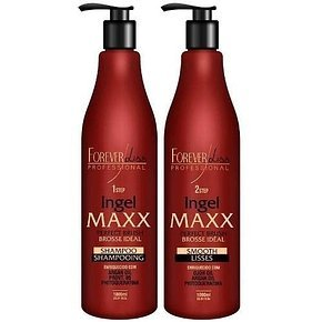 FOREVER LISS MAXX BRAZILIAN KERATIN TREATMENT KIT 2 X 1000ML by Forever Liss Professional (Image #6)