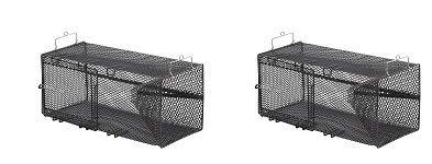 Frabill Minnow Trap, 8 x 8 x 18-Inch, Black (2-(Pack))
