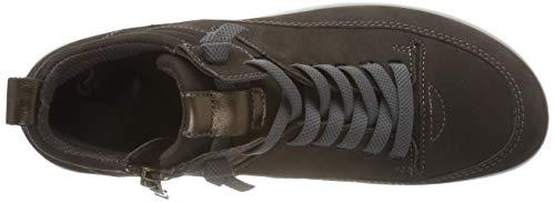 tundra Sneaker Tokio 15 A Collo Alto Donna Ara bronce Marrone q05F1nd