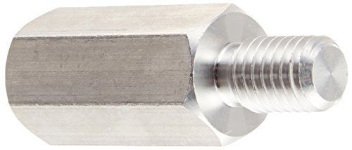 Standoff Hex - Male #4-40 x 1/4 (OD) x 1/4 (Body Length), Aluminum (QUANTITY: 1000) Part Number: 4530-440-AL-JF by Jet Fitting & Supply Corp