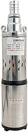 Fanuse Bomba de Agua Solar Bomba Sumergible de Pozo Profundo de 24 V Bomba de Riego Bomba de Pozo Profundo de JardíN