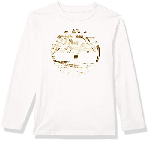 Timberland Boys' Long Sleeve Graphic Logo T-Shirt