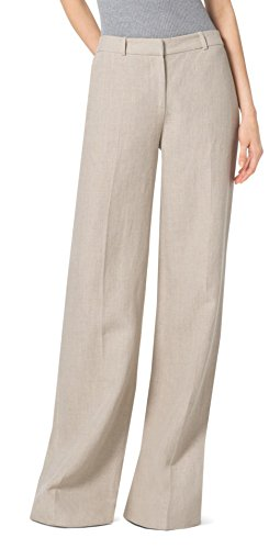 Michael-Kors-Natural-Linen-Wide-Leg-Pants-Trousers-Hemp