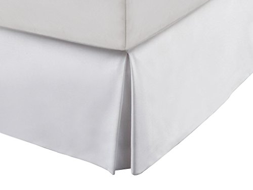 Hotel linen collection luxury microfiber bed skirts queen for Luxury hotel 660 collection bed skirt