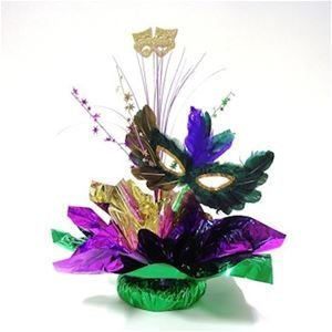 Awesome Events MGR12Q Masquerade Centerpiece, 2 Pack