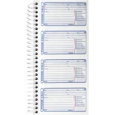 Sparco Telephone Message Book, 400 Sets, 5-1/4 x 11 Inches Sheet, White (SPR02301) - Sparco Telephone Message Book