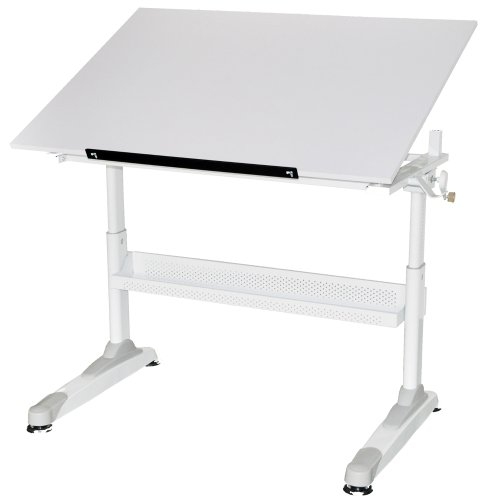 Martin Universal Design Motor City Crank Drawing Table 30-Inch by 42-Inch Top