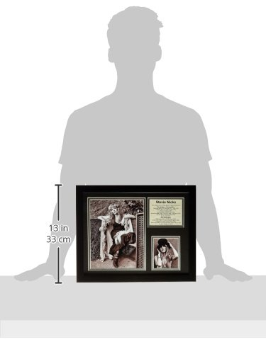 Legends Never Die Stevie Nicks Framed Photo Collage, 11 by 14-Inch by Legends Never Die (Image #2)