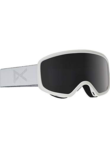 Anon Women's Deringer Goggle with MFI Mask, Whiteout Frame Dark Smoke Lens W17 (Anon Wm1)